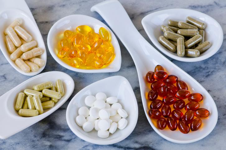อาหารเสริมและยา